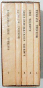 Gesammelte Werke in 5 Bänden.