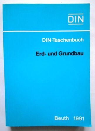 Bauwesen: Erd- und Grundbau. DIN Taschenbuch (36) – Normen Bauwesen 5.