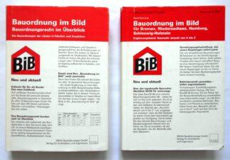 Bauordnung im Bild: 2 Bände: Bauordnungsrecht im Überblick-Länder in Tabellen+Graphiken plus Ergänzungsband – Baurecht von A-Z f. Bremen, Niedersachsen, Hamburg, Schleswig-Holstein.