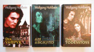 Die Chronik der Unsterblichen: 3 Bände: Der Todesstoss; Der Vampyr; Am Abgrund.