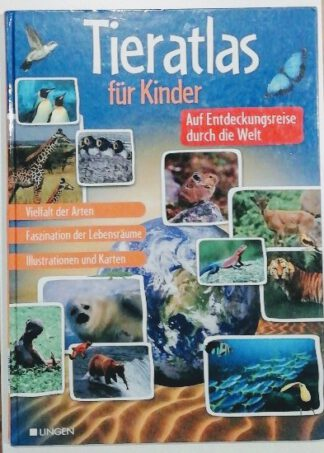Tieratlas für Kinder.