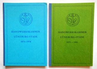 Tätigkeitsbericht der Handwerkskammer Lüneburg-Stade 1974-1978 und 1979 – 1983 (2 Bände).