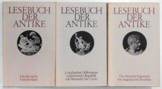 Lesebuch der Antike in 3 Bänden.