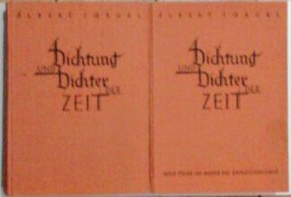 Dichtung und Dichter der Zeit. Eine Schilderung der dt. Literatur der letzten Jahrzehnte. Und: Neue Folge. Im Banne des Expressionismus. 2 Bde.