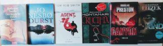 Thriller-Paket – 6 Bücher voller Spannung und Nervenkitzel.