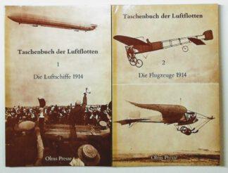 Taschenbuch der Luftflotten in 2 Bänden.