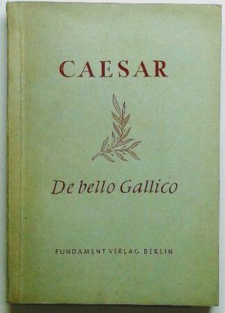 De bello Gallico.