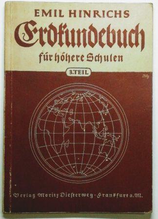 Erdkundebuch für höhere Schulen – 3. Teil.