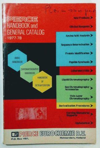 Pierce Handbook and General Catalog 1977-78.