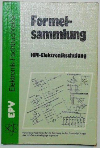 Formelsammlung zur HPI-Elektronikschulung.