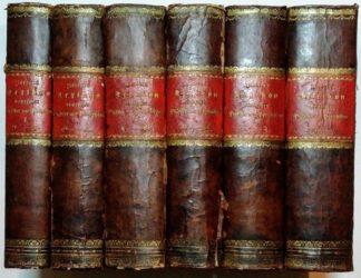 Lexikon deutscher Dichter und Prosaisten in 6 Bänden [Band 1-5 + Band 6 Supplemente].