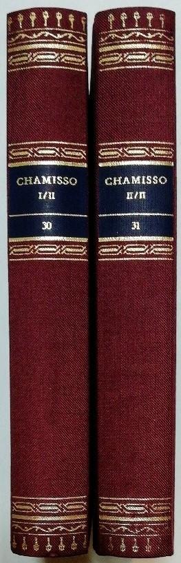 Chamisso – Werke in zwei Bänden [Die Bibliothek deutscher Klassiker Band 30 u. 31, komplett].