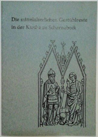 Die mittelalterlichen Gestühlreste in der Kirche zu Scharnebeck.