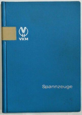 Spannzeuge – Lieferkatalog 1972.