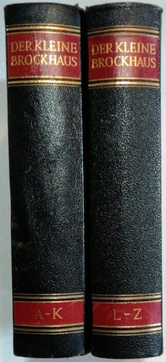 Der kleine Brockhaus [2 Bände].