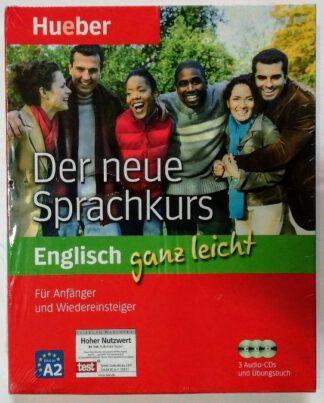 Der neue Sprachkurs Englisch ganz leicht – Für Anfänger und Wiedereinsteiger – Niveau A2 der Europäischen Sprachenzertifikate.