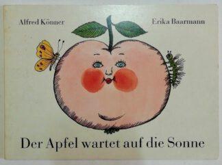 Der Apfel wartet auf die Sonne.