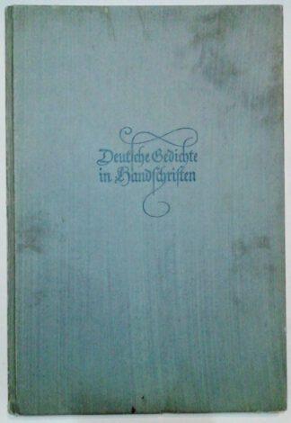 Deutsche Gedichte in Handschriften.