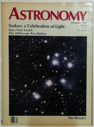 Astronomy – The World´s Most Beuatiful Astronomy Magazine Vol. 10, No. 12.