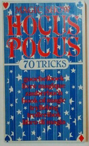 Magic Show Hocus Pocus – 70 Tricks [mehrsprachig].