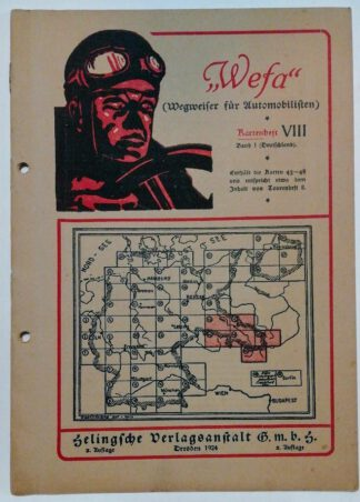 Wefa – Wegweiser für Automobilisten – Kartenheft VIII.