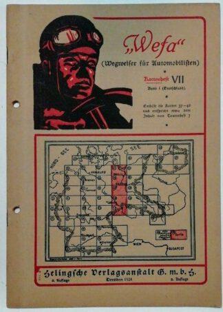 Wefa – Wegweiser für Automobilisten – Kartenheft VII.