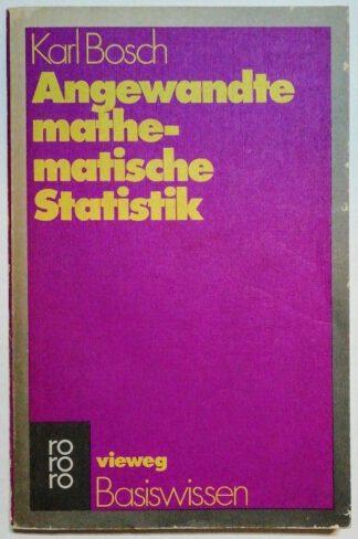 Angewandte mathematische Statistik.