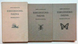 Exkursionsfauna Wirbellose Band 1, II/1 und II/2 [3 Bände].