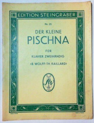 Der kleine Pischna für Klavier zweihändig – 48 Übungsstücke [Edition Steingräber Nr. 25].