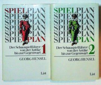 Spielplan – Der Schauspielführer von der Antike bis zur Gegenwart [2 Bände].