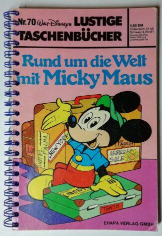 Reisetagebuch – Rund um die Welt mit Micky Maus – 146 Seiten, blanko