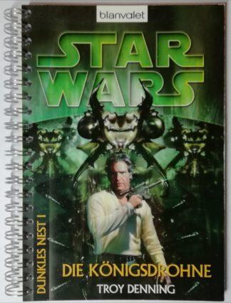 Notizbuch – Star Wars – Die Königsdrohne – 140 Seiten, kariert