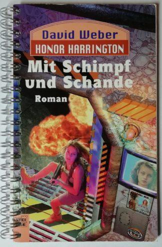 Notizbuch – Mit Schimpf und Schande – 156 Seiten, blanko