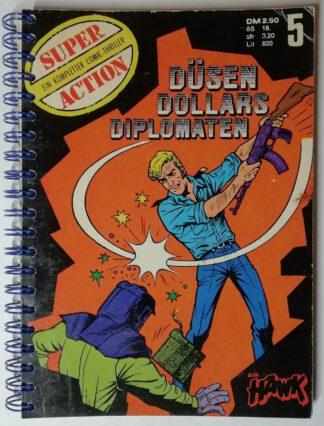 Notizbuch – Düsen, Dollars, Diplomaten – 174 Seiten, blanko