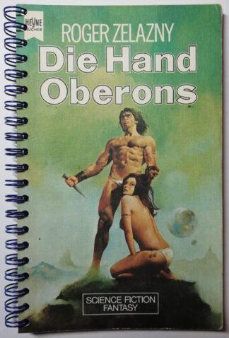 Notizbuch – Die Hand Oberons – 120 Seiten, blanko