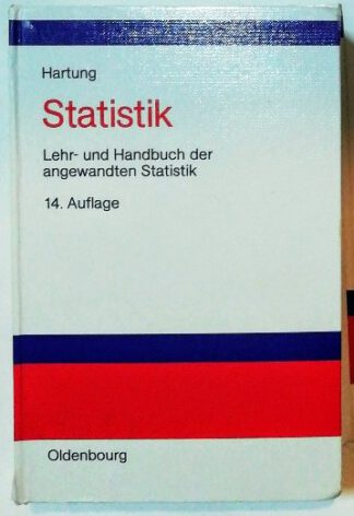 Statistik – Lehr- und Handbuch der angewandten Statistik.