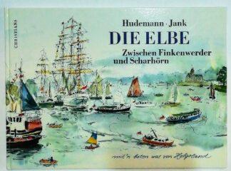 Die Elbe zwischen Finkenwerder und Scharhörn mit´n beten wat von Helgoland.