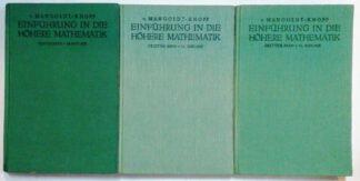 Einführung in die höhere Mathematik [3 Bände]