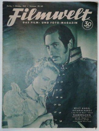 Filmwelt – Das Film- und Foto-Magazin 1. Oktober 1941 – Nr. 39/40