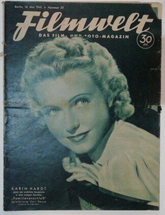 Filmwelt – Das Film- und Foto-Magazin 16. Mai 1941 – Nr. 20.