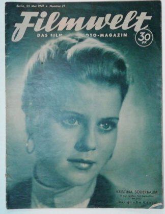 Filmwelt – Das Film- und Foto-Magazin 23. Mai 1941 – Nr. 21.