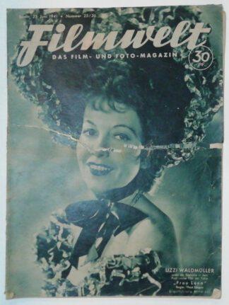 Filmwelt – Das Film- und Foto-Magazin 25. Juni 1941 – Nr. 25/26.
