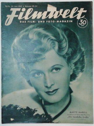 Filmwelt – Das Film- und Foto-Magazin 24. Juni 1942 – Nr. 23/24.