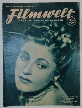 Filmwelt – Das Film- und Foto-Magazin 24. Dezember 1941 – Nr. 51/52.
