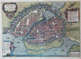Grundtriß der Edlen Weitberumbten Statt Hamburg Anno 1651 – Reproduktion.
