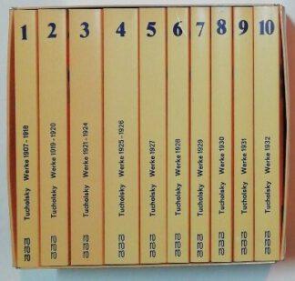 Kurt Tucholsky Gesammelte Werke in 10 Bänden.