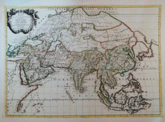Asia Vetus 1667 – Reproduktion.