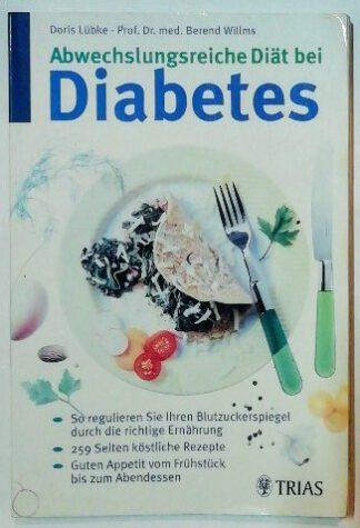 Abwechslungsreiche Diät bei Diabetes.