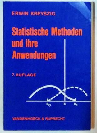 Statistische Methoden und ihre Anwendungen.