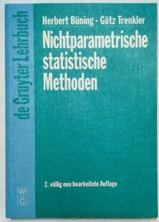 Nichtparametrische statistische Methoden.